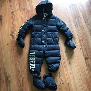 Diesel snowsuit bunting down filled 12m